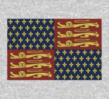 Medieval Royal Standard of England by cadellin