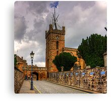 Looking up the Kirkgate Canvas Print