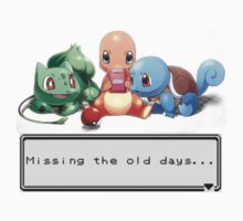 "Pokemon ""Missing the old days..."" by Kiuuby"