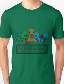 """Pokemon """"Missing the old days..."""" T-Shirt"""