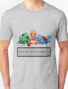 "Pokemon ""Missing the old days..."" T-Shirt"