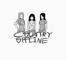 The Country of Offline Womens Fitted T-Shirt