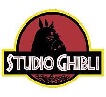 ghibli studio jurassic style by DinaPurifoy