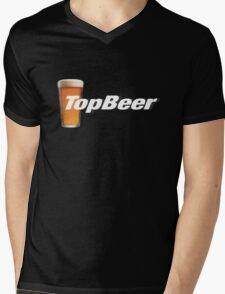 TopBeer Mens V-Neck T-Shirt
