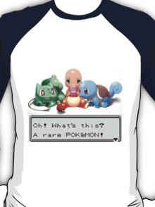 "Pokemon ""Oh!Whats this?A rare POKEMON!"" T-Shirt"