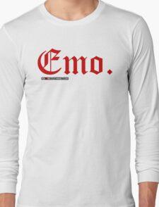 Emo. Long Sleeve T-Shirt