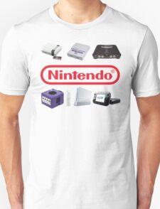 Nintendo Consoles T-Shirt
