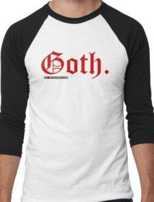Goth. Men's Baseball ¾ T-Shirt