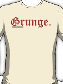 Grunge. T-Shirt