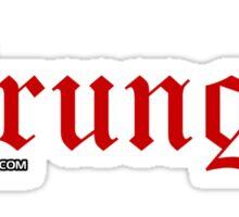 Grunge. Sticker