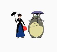 Mary Poppin and totoro umbrela Unisex T-Shirt