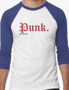 Punk. Men's Baseball ¾ T-Shirt