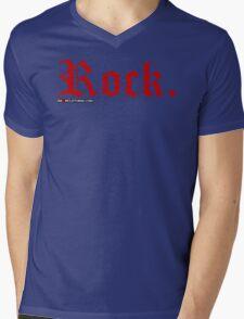 Rock. Mens V-Neck T-Shirt