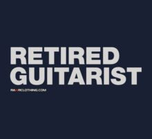 Retired Guitarist Kids Tee