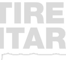 Retired Guitarist Sticker