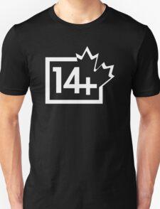 TV 14+ (Canada) white T-Shirt