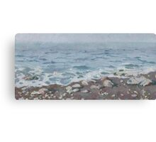 Adriatic Sea Shore Canvas Print