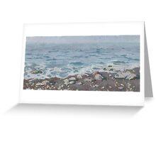 Adriatic Sea Shore Greeting Card