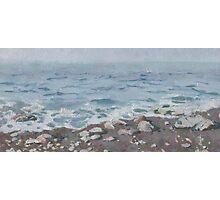 Adriatic Sea Shore Photographic Print