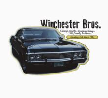 Winchester Bros Impala by vegasskies