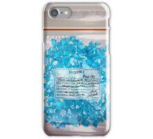W.W. Blue Sky meth. (DEA Evidence) iPhone Case/Skin