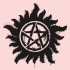Anti-Possession Symbol Dark (Splatter) by WincestSounds
