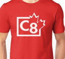 TV C8 (Canada) white Unisex T-Shirt
