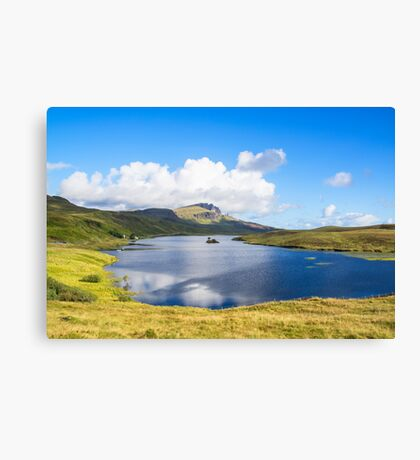 Loch Fada to the Storr 2 Canvas Print