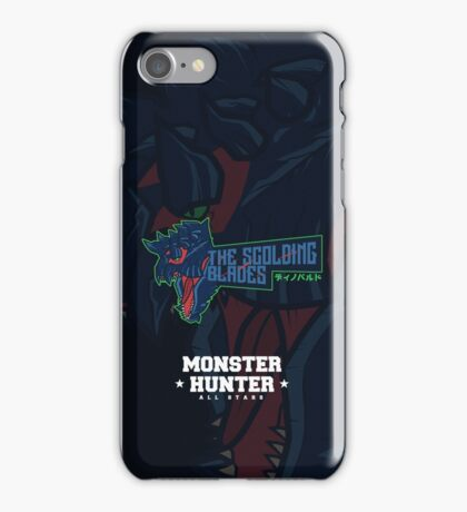 Monster Hunter All Stars - The Scolding Blades iPhone Case/Skin