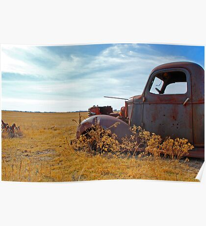 Prairie Rust Poster