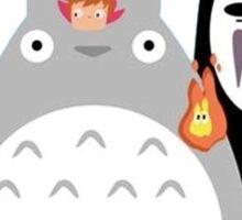 Studio Ghibli Gang Sticker