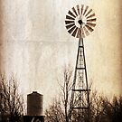 Vintage Windmill by amandameans