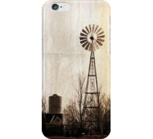 Vintage Windmill iPhone Case/Skin
