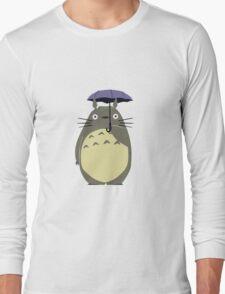 Alone Totoro Long Sleeve T-Shirt