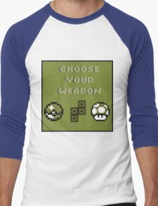 Choose Your Weapon Men's Baseball ¾ T-Shirt