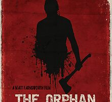 The Orphan Killer (RED) Poster by theorphankiller