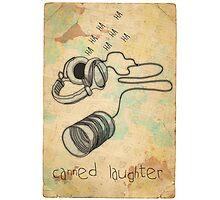 canned laughter Photographic Print