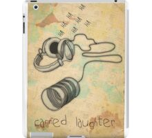 canned laughter iPad Case/Skin