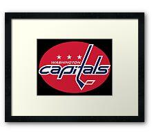 NHL - Washington Capitals Logo Alt. Framed Print