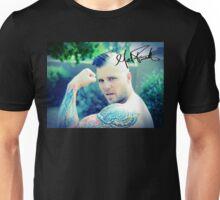 Matt Farnsworth Autographed Muscle Photo Unisex T-Shirt