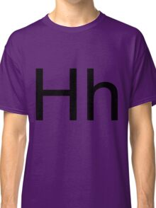 Hh - black text Classic T-Shirt