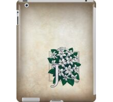 J is for Jasmine iPad Case/Skin