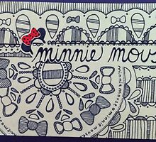 Minnie Mouse Doodle by emilyperel