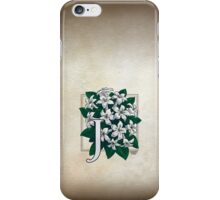 J is for Jasmine - full image iPhone Case/Skin