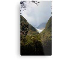 Land of Rainbows and Glaciers Metal Print