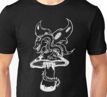 Butterfly Dragon (white version) Unisex T-Shirt