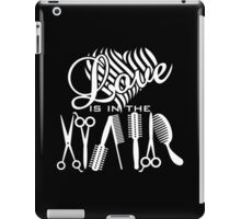 Love is in the Hair VRS2 iPad Case/Skin