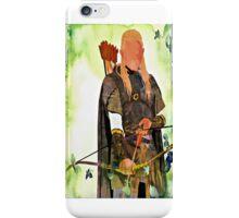 Legolas art iPhone Case/Skin