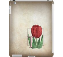 T is for Tulip - full image iPad Case/Skin