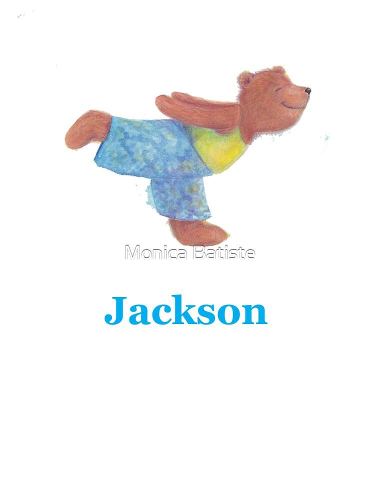 Jackson bear by Monica Batiste